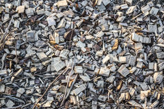 大锯木屑 免版税库存图片