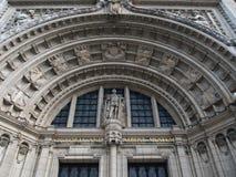 大门、维多利亚和阿尔伯特博物馆,伦敦 库存照片