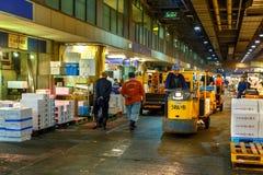 大阪中央批发市场 免版税库存照片
