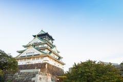 大阪城堡在京都,日本 库存图片