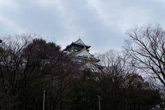 大阪城堡,日本,大阪 免版税库存图片
