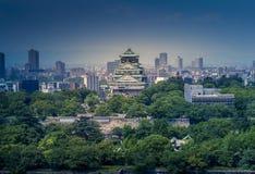 大阪城堡, chuoku,大阪日本, 库存图片