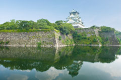 大阪城堡 免版税图库摄影
