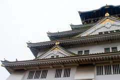 大阪城堡 库存照片