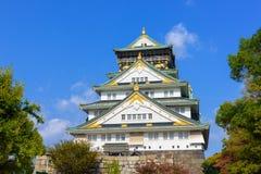 大阪城堡 图库摄影