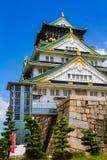 大阪城堡 免版税库存图片