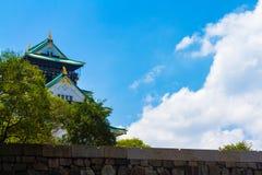 大阪城堡 库存图片