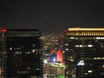 大阪夜视图  免版税库存照片