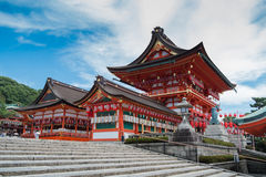 大阪寺庙 图库摄影