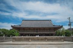 大阪寺庙 免版税图库摄影