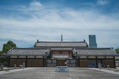 大阪寺庙 免版税库存图片
