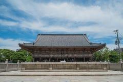 大阪寺庙 免版税库存照片