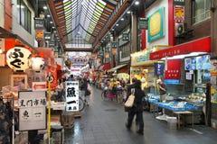 大阪市场 免版税库存照片