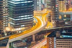 大阪高速公路 免版税图库摄影