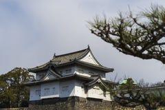 大阪,日本城堡 免版税库存照片