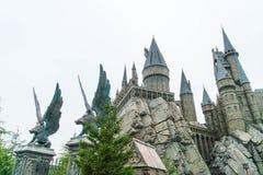 大阪,日本- 2016年11月21日:哈利・波特Wizarding世界  免版税库存图片