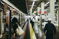 大阪,日本- 2016年7月27日- Hankyu梅田驻地在日本的大阪 库存照片