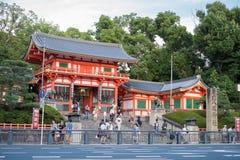 大阪,日本- 7月:在大阪附近的游人祀奉2 7月20日, 库存照片