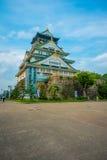 大阪,日本- 2017年7月18日:大阪城堡在大阪,日本 城堡是一个日本` s多数著名地标 免版税图库摄影
