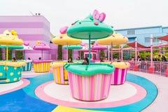 大阪,日本- 2016年11月21日:环球电影制片厂的杯形蛋糕土地 免版税库存图片