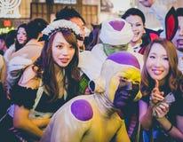 大阪,日本- 2015年10月31日:Dotonbori购物街道在Osa 免版税图库摄影