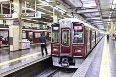 Umeda驻地,大阪 库存图片