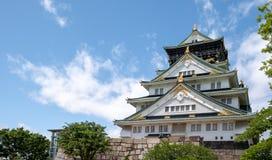 大阪, JAPAN-JUNE第12, 2018年 大阪城堡 库存图片