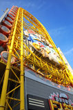 大阪- 10月23 :2012年10月23日的Dotonbori在大阪,日本。 库存照片