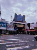 大阪Kuromon市场入口- Nippombashi 库存照片