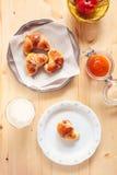 大陆的早餐 免版税图库摄影