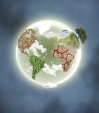 大陆行星 免版税库存照片