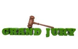 大陪审团 免版税库存照片