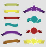 大集合减速火箭的设计 免版税库存图片