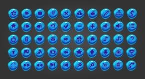 大集合网按钮 免版税库存图片
