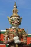 大雕象, Wat Phra Kaew 库存图片