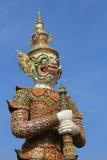 大雕象, Wat Phra Kaew 库存照片