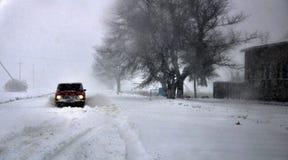 大雪和blizzard_15 库存照片