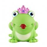大青蛙嘴唇红色橡胶 免版税库存照片