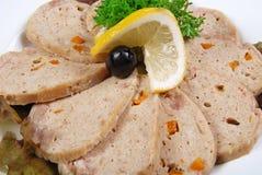 大面包肉 免版税库存照片