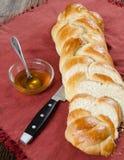 大面包面包和油 库存图片