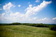 大领域在农村宾夕法尼亚 图库摄影