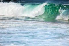 大风雨如磐的海浪 库存图片