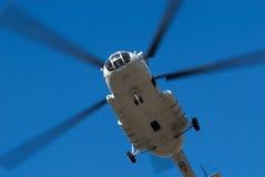 大飞行直升机 库存照片