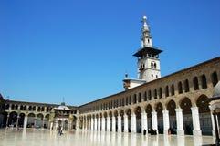 大马士革清真寺叙利亚 库存照片