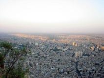 大马士革视图 库存图片
