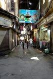 大马士革,叙利亚- 2012年11月16日:在AlHamidiyah Souq的一普通的天在老城大马士革 义卖市场是最大的souk在Syr 免版税库存图片