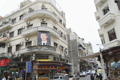 大马士革,叙利亚- 2010年1月14日 免版税库存照片