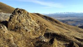 大高加索山脉视图 免版税库存图片