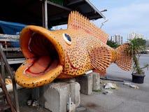 大鱼 库存图片