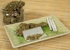 大麻11 免版税库存图片